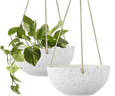 RECYCLABLE PLASTIC NATURAL STONE PLANTER