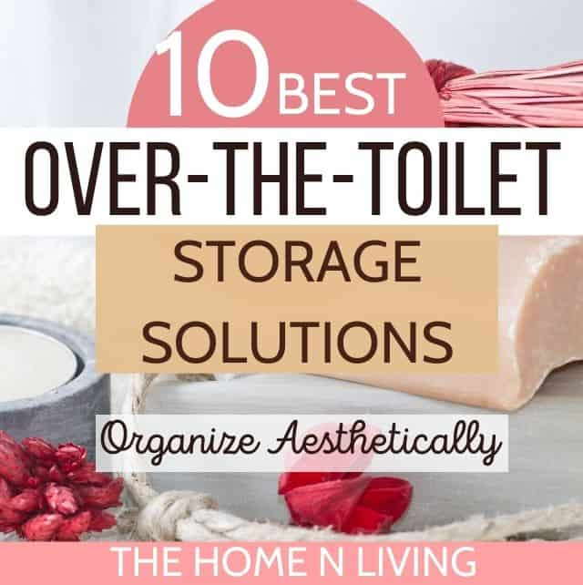 10 Best Over the Toilet-Storage Solutions