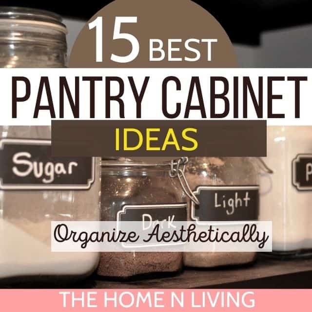 15 Best Pantry Cabinet Ideas for Storage and Decor